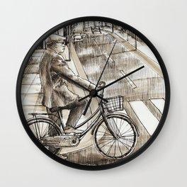 City Ride Wall Clock