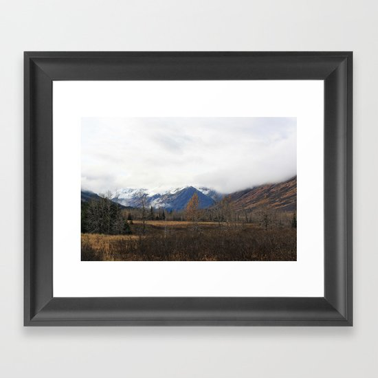Turnagain Pass Framed Art Print