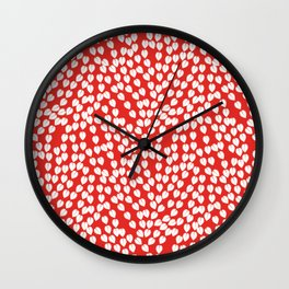 Flow .red Wall Clock
