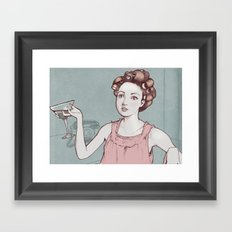 The Housewife  Framed Art Print