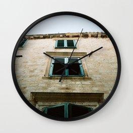 Windows, Croatia Wall Clock