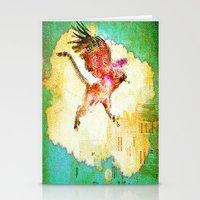 mythology Stationery Cards featuring Gryphon mythology by Joe Ganech