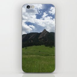 Chautauqua Park iPhone Skin