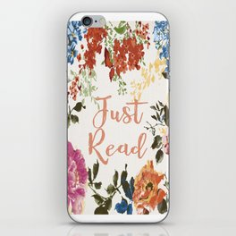 Just Read iPhone Skin
