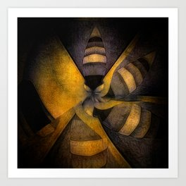 escape the hive Art Print