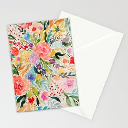 Flower Joy Stationery Cards