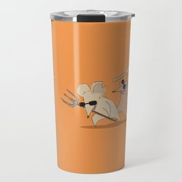 Three Visually Impaired Mice Travel Mug