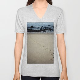 Sand Trails Unisex V-Neck