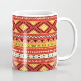 Tribal #5 * Ethno Ethnic Aztec Navajo Pattern Boho Chic Coffee Mug