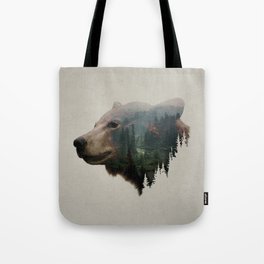 The Pacific Northwest Black Bear Tote Bag
