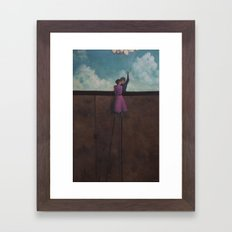 elevated Framed Art Print