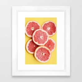 vitaminC Framed Art Print