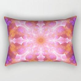 Dimensionl Awareness Mandala Rectangular Pillow