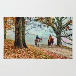 A Fall Ride Rug