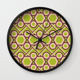 Octo-retro Wall Clock