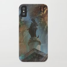 Rome Statues with color Slim Case iPhone X