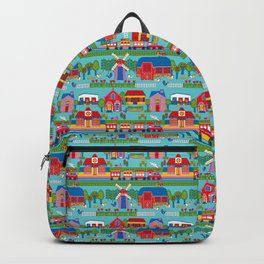 Around Town Bright Backpack