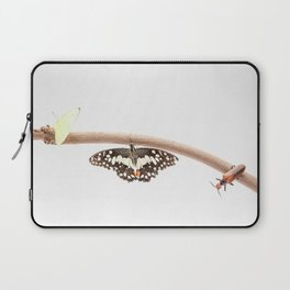 beetle and butterfly Laptop Sleeve