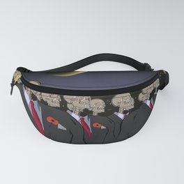 Skeletons remembrance Fanny Pack