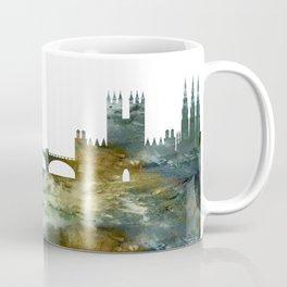 Edinburgh Skyline Scotland Coffee Mug
