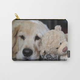 Golden Retriever with Best Friend Carry-All Pouch