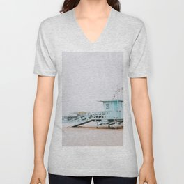 santa monica, california Unisex V-Neck