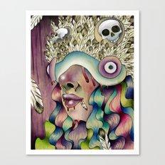 Drippage Canvas Print