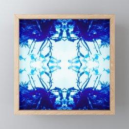 Glass Fish Shibori Framed Mini Art Print