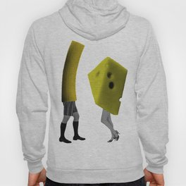 Because she's the cheese and I'm the macaroni Hoody