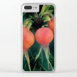 ROSE HIP Clear iPhone Case