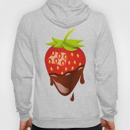 Strawberry covered with chocolate Hoody
