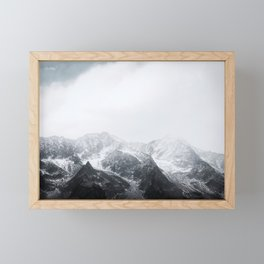 Morning in the Mountains - Nature Photography Framed Mini Art Print