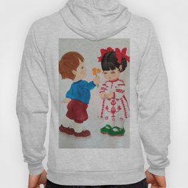 A boy and a girl Hoody