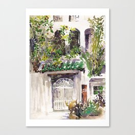 20140327 39 Emerald Hill Road, Singapore Canvas Print