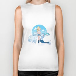 Joanne x Sun and Moon Biker Tank