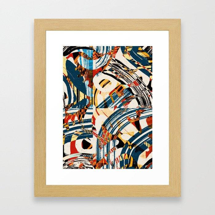 Pattern № 59 Framed Art Print