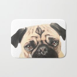 Pugging Love Bath Mat