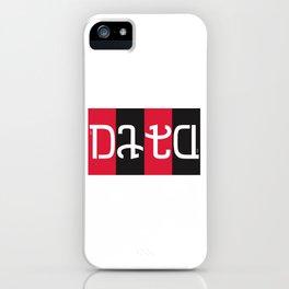 """""""data"""" iPhone Case"""