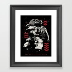 In Ashes Framed Art Print