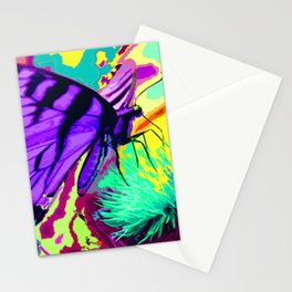 Purple butterfly beauty 1 Stationery Cards