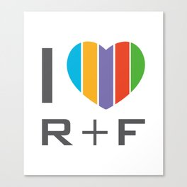 I Love RF Rodan and fields independent consultant Canvas Print