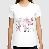 piglet T-shirts featuring Piglet by Doctor Hue