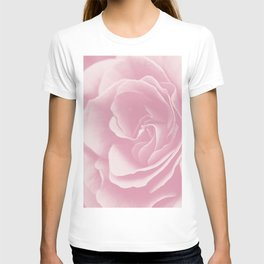 Light Pink Rose #2 #floral #art #society6 T-shirt