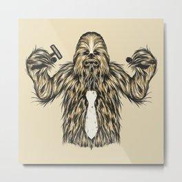 Chewie I Hate Mondays SW Metal Print