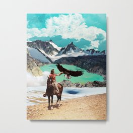 The eagle's journey Metal Print