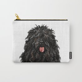 Black Puli Dog Carry-All Pouch