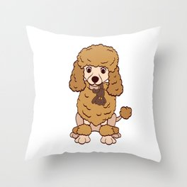 Life Is Better With An Australian Shepherd With A Poodle For Certified Dog Lover T-shirt Design Paws Throw Pillow