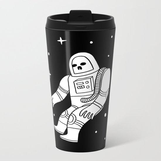 Dead Astronaut Metal Travel Mug