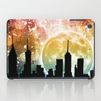 moonrise iPad Cases featuring Moonrise by Jenndalyn