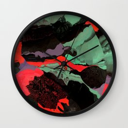 When red and green move together Wall Clock